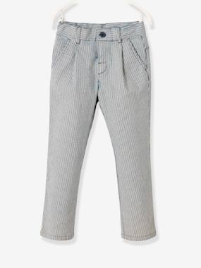 Boys-Trousers-Striped Trousers for Boys