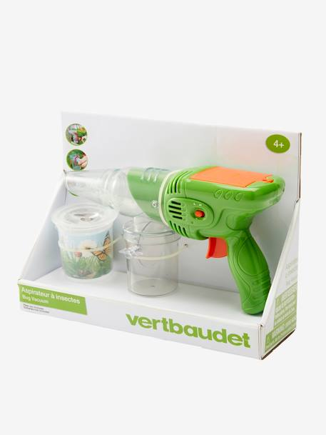 Insect Aspirator GREEN MEDIUM SOLID WITH DESIG - vertbaudet enfant