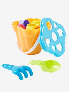 Toys-Sand Bucket Shape Sorting Box