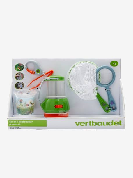 Bug Observer Set GREEN MEDIUM SOLID WITH DESIG - vertbaudet enfant