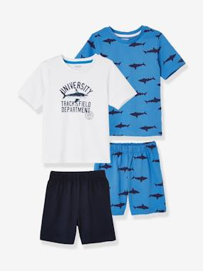Basics and Multipacks-Pack of 2 Mix & Match Short Pyjamas for Boys