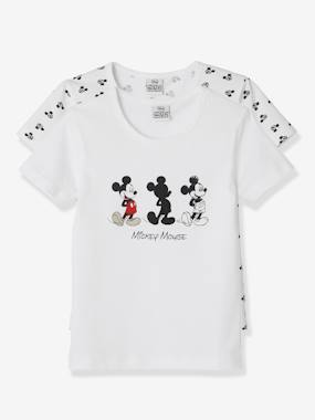 Minnie et Mickey-Lot de 2 T-shirts Mickey® manches courtes