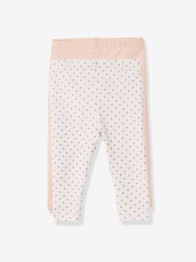 Basics and Multipacks-Baby-Baby Girls' Pack of 2 Long Leggings