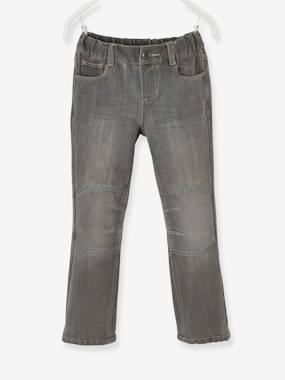 Boys-Jeans-Boys Indestructible Straight-Cut Jeans
