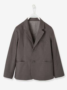 Boys-Coats & Jackets-Occasion Wear Cotton/Linen Jacket for Boys