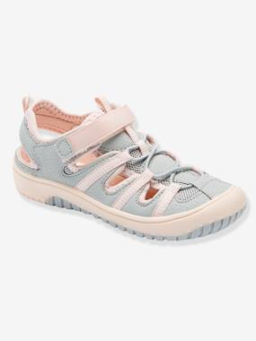 Vertbaudet Collection-Shoes-Trekking Sandals for Girls
