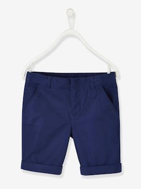 Summer collection-Boys-Bermuda Shorts in Cotton/Linen, for Boys