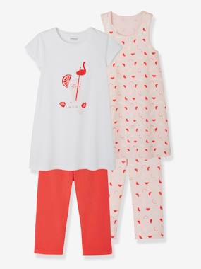 Mid season sale-Girls-Nightwear-Pack of 2 Mix & Match Pyjamas for Girls