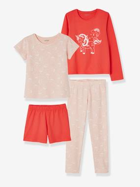 Basics and Multipacks-Pack of 2 Mix & Match Pyjamas for Girls