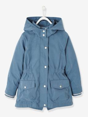 Vertbaudet Sale-Girls-3-in-1 Parka for Girls