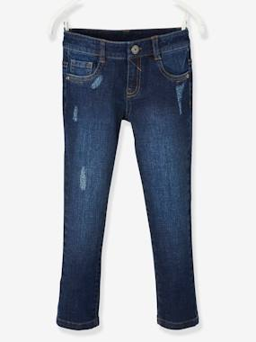 Boys-Jeans-MEDIUM Hip, Slim Leg, MorphologiK Jeans for Boys, Washed Look