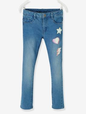 Girls-Jeans-WIDE Hip, Slim Leg MorphologiK Jeans for Girls