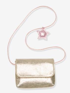 Vertbaudet Sale-Girls-Iridescent Clutch Bag with Decorative Star, for Girls