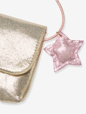 Festive favourite-Girls-Iridescent Clutch Bag with Decorative Star, for Girls