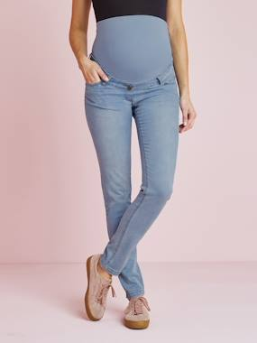 Collection Vertbaudet-Future Maman-Jean slim stretch de grossesse entrejambe 79