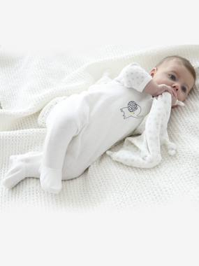 Vertbaudet Collection-Newborn Set: Sleepsuit + Bodysuit + Comforter in Organic Cotton