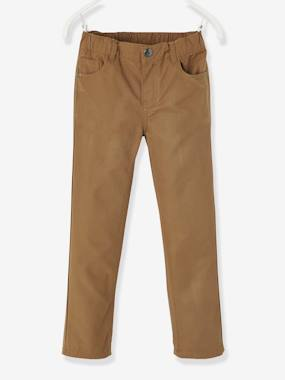 Short & Bermuda - Vertbaudet Fashion specialist for kids and baby : clothing, shoes and accessories-Boys' Indestructible Straight Cut Trousers
