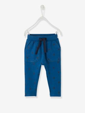 Mid season sale-Baby-Trousers & Jeans-Trousers in Printed Fleece, for Babies