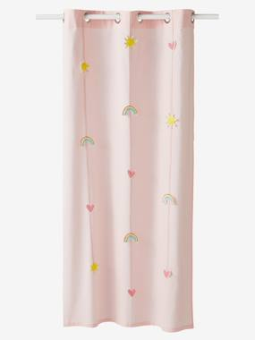Vertbaudet Collection-Decoration-Sheer Curtain, Rainbow Theme