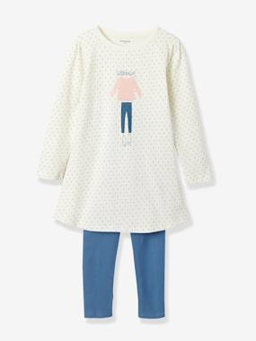 Girls-Nightwear-Nightshirt & Leggings