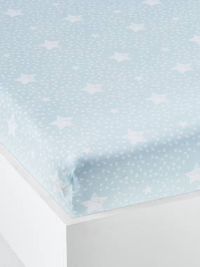 Bedding-Child's Bedding-Fitted Sheet for Children, Happy Love Theme