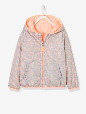 Vertbaudet Sale-Girls-Reversible Sports Jacket for Girls