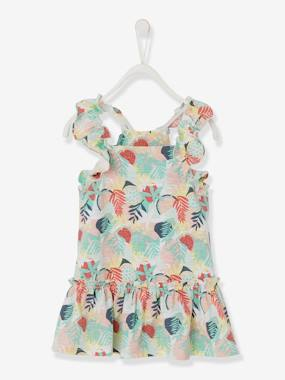 Baby-Dresses & Skirts-Dress with Ruffles, for Baby Girls