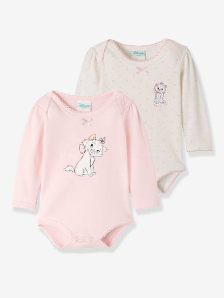18ae25cc5b633 Lot de 2 bodies bébé fille Disney motif Aristochat - assortis, Bébé