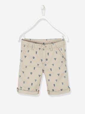 Summer collection-Boys-Bermuda Shorts with Print, for Boys
