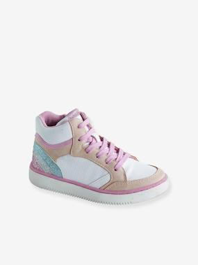 Vertbaudet Sale-Trainers with Zip & Laces for Girls