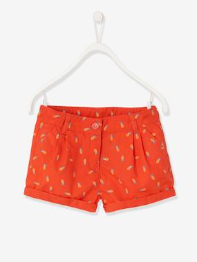 Girls-Shorts-Printed Shorts, for Girls