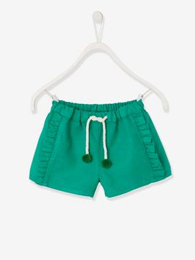 Short & Bermuda - Vertbaudet Fashion specialist for kids and baby : clothing, shoes and accessories-Short à volants fille