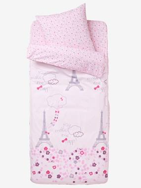 Bedding-Child's Bedding-Sleeping Bags & Ready Beds-Ready-for-Bed 3-Piece Set without Duvet, Eiffel Tower