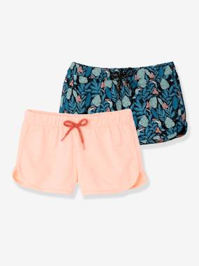 Short & Bermuda - Vertbaudet Fashion specialist for kids and baby : clothing, shoes and accessories-Lot de 2 shorts fille