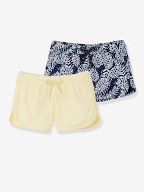 Collection Vertbaudet-Fille-Lot de 2 shorts fille