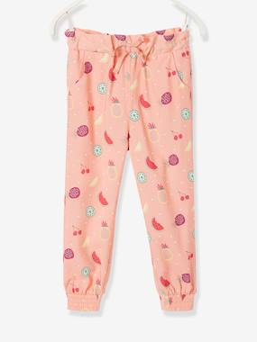 Girls-Trousers-Loose-Fitting Trousers for Girls