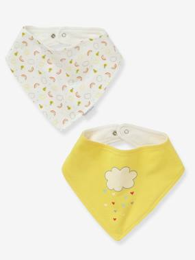 Mid season sale-Nursery-Pack of 2 Bandana-Style Bibs