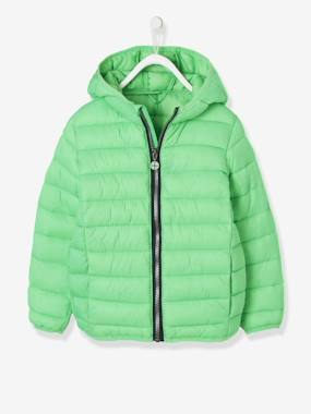 Coat & Jacket-Lightweight Padded Jacket with Hood for Boys