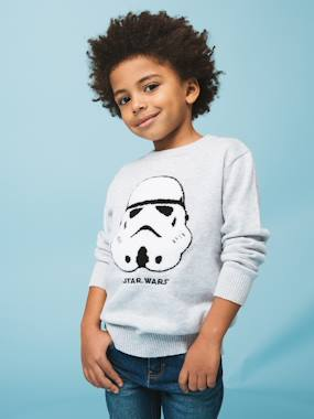 Summer collection-Boys-Cardigans, Jumpers & Sweatshirts-Star Wars® Top in Jersey Knit