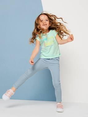 Vertbaudet Collection-Girls-Trousers-NARROW Fit - Girls' Slim Fit Trousers