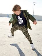 Parka with Hood, Patches & Motifs, for Boys  - vertbaudet enfant