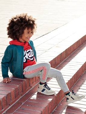 Mid season sale-Boys-Coats & Jackets-Coated Bomber Jacket for Boys