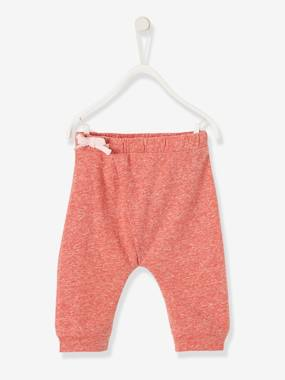 Vertbaudet Collection-Baby-Soft Jersey Knit Trousers for Newborn Babies