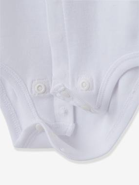 Vertbaudet Sale-Baby-Baby Short-Sleeved Organic Cotton Bodysuit, Especially for Premature Babies