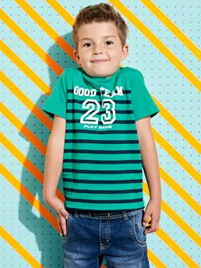 haut-Striped T-shirt for Boys
