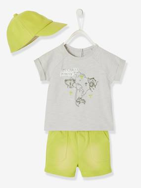Baby-Outfits-3-Piece Summertime Ensemble for Baby Boys