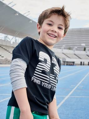 Boys-Sportswear-2-in-1 Sports Top for Boys