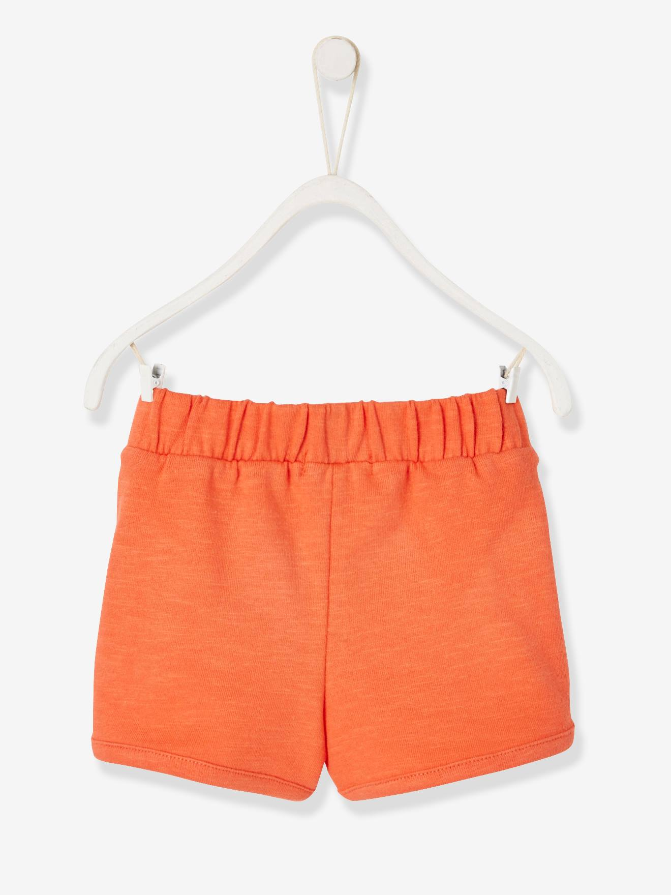 girls orange shorts