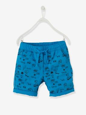Boys-Shorts-Reversible Bermuda Shorts for Boys