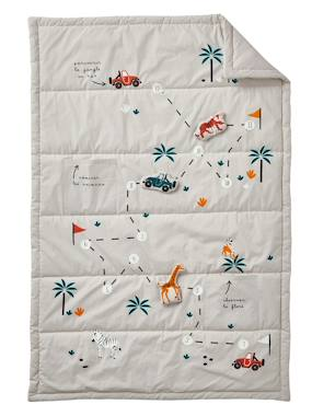 Vertbaudet Collection-Bedding-Throw for Children, Safari Theme